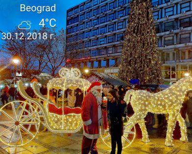 Нова година 2022 БЕЛГРАД, хотел PALACE 4* с ПАНОРАМЕН ресторант и Новогодишна вечеря!